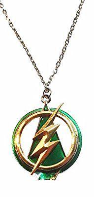 DC Comics The Flash Green Arrow Crossover Pendant NECKLACE