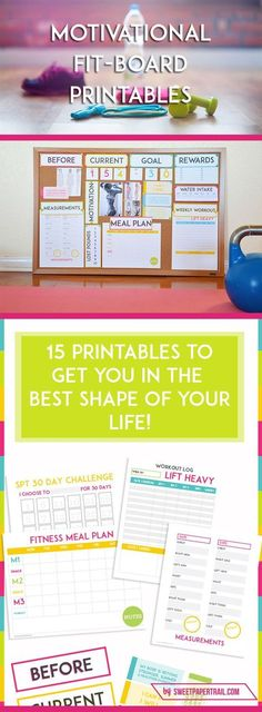 Motivational Fitness Printables - Weight Loss Printables