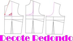 Vídeo aula modelagem decote Redondo Exclusivo para membros Vip veja como fazer sua assinatura http://claudineiaantunes.com.br/2015/05/12/venha-ser-vip-site-com-conteudo/