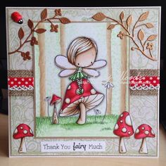 Little Lucy's Handmade Cards: Magical Woodland - New Release at All Dressed Up!