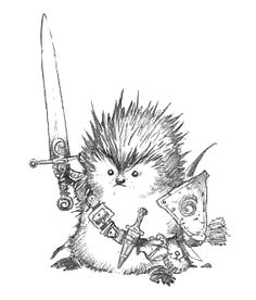warrior hedgehog - Google Search