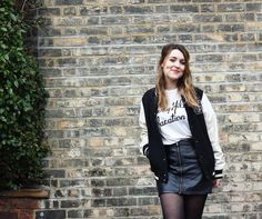 How to Style a Leather Skirt Ideas   POPSUGAR Fashion