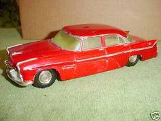 1956 Desoto Fireflite 4 Door Sedan Banthrico promo model