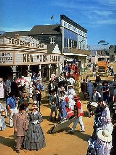 Sovereign Hill Goldfields Township and Museum, Ballarat Street View, Museum, New York, Victoria, Places, Fitness, New York City, Nyc, Keep Fit