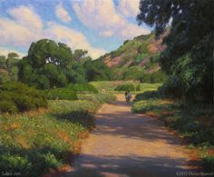 """Eaton Canyon Path"" by Charles Muench"