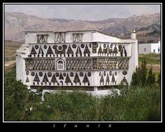 Dove houses in Tinos, Greece