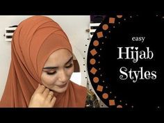 Easy Hijab Styles Full Coverage Youtube With Images Easy