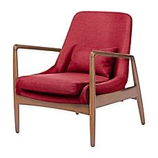 image of Baxton Studio Carter Upholstered Lounge Chair