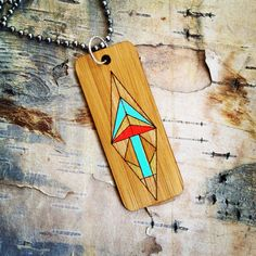 Walk Your Path  Bamboo Necklace by SaraLua on Etsy, $48.00
