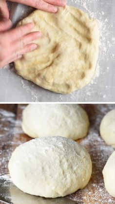 No electric mixer or fancy pizza dough hook needed for this Quick and Easy Pizza Dough. A foolproof homemade pizza crust every time! Makes 1 large pizza. Pizza Dough Recipe Quick, No Yeast Pizza Dough, Quick Pizza, Pizza Dough Recipe Without Mixer, Pizza Dough Recipe With Active Dry Yeast, Pan Pizza Crust Recipe, Pizza Dough Recipe By Hand, Thermomix Pizza Dough, Cornmeal Pizza Crust