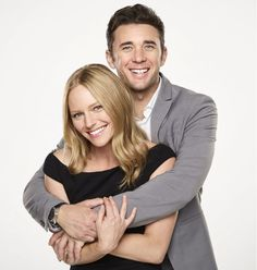 Marci Miller (Abby Deveraux) and Billy Flynn (Chad Dimera). She hasn't been playing Abby long, but I love her! #chabby