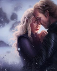 [EVERYTHING] Daenerys and Jorah Mormont fan art by Sandra Winther