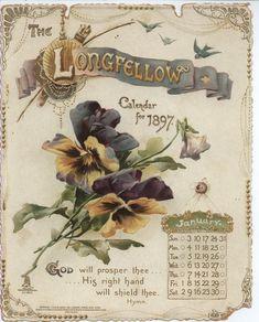 THE LONGFELLOW CALENDAR FOR 1897.