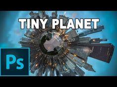 Efecto de fotografía circular (Tiny Planet) - Tutorial Photoshop en Español - YouTube