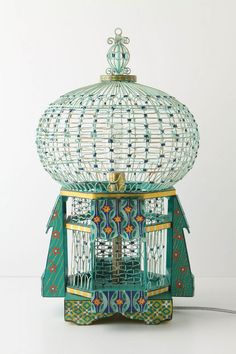 moroccan influence - bird gage for those birds who want to rest up
