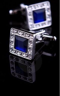 The Blue Luxury Cufflinks - biddi