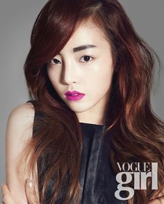 Goo Hara for Vogue Girl Korea - March 2013