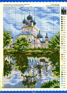 This Pin was discovered by Gab Cross Stitch House, Beaded Cross Stitch, Cross Stitch Flowers, Cross Stitch Kits, Cross Stitch Charts, Cross Stitch Designs, Cross Stitch Embroidery, Cross Stitch Patterns, Beaded Banners