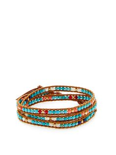 Semi-Precious Bead Wrap Bracelet from Chan Luu: Up to 80% Off on Gilt