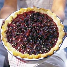 Though this pie should be assembled and served the same day, you can get a head start by combining the berries and sugar and chilling them the night before.