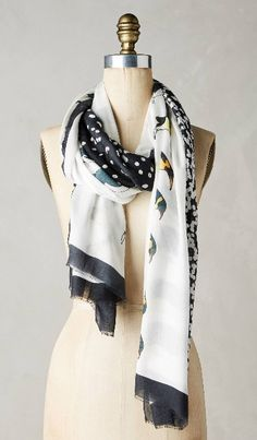 Antarctic Silk Scarf