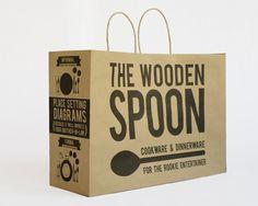 Packaging Design: Shopping Bag on Behance