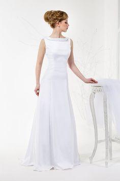 50% SALE  A-Line Modern Minimalistic Wedding by TashaWeddingStudio
