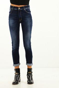 Kocca - Jeans - Abbigliamento - Jeans in cotone elasticizzato a cinque tasche a vita alta. - L234 - € 95.00