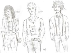 PJO in a Hipster version 2 by whenpopsucks.deviantart.com on @deviantART