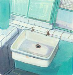 Le Corbusier Sink by Maira Kalman
