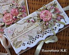 Fancy Envelopes, Decorated Envelopes, Gift Cards Money, Paper Flower Tutorial, Shaped Cards, Fancy Fold Cards, Quilling Cards, Marianne Design, Mothers Day Cards