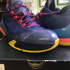 de6ce5bb060 Air Jordan Shoes | Jordan Cp3 Viii | Color: Blue/Red | Size: