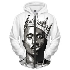 Tupac most wanted hoodie