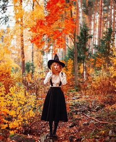 Starting our yearly themed IG feed. Please use to submit your image. Witch please Magical linen skirt blouse from Witches Costumes For Women, Witch Costumes, Vintage Witch Costume, Vintage Witch Photos, Cute Witch Costume, Autumn Aesthetic, Witch Aesthetic, Aesthetic Vintage, Autumn Witch