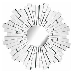 art deco mirrors | Round Art Deco Starburst Mirror