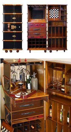trunk bar; #speakeasy party ideas, #trunk #bar