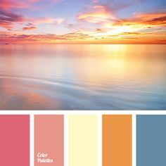 Image result for cyan sunset color