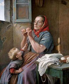 Aurelio Zingoni - A Difficult Task - Fine Art Print