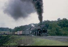 RailPictures.Net Photo: NW 1217 Norfolk & Western Steam 2-6-6-4 at Blue Ridge, Virginia by Bob Krone