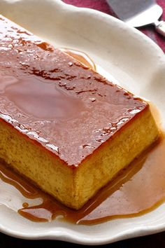 """This traditional Iberian flan, is now sometimes called """"Flan a la Antigua,"""" or Flan of the Past. That's because it doesn't include the common New World ingredients of condensed and evaporated milk. Instead, it is pure poetry made of eggs, sugar and milk. (Photo: Melina Hammer)"""
