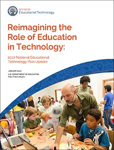The National Education Technology Plan is the flagship educational technology policy document for the United States. The Plan articulates a vision of equity, active use, and collaborative leadership to make everywhere, all-the-time learning possible. While acknowledging the continuing need to provide greater equity of access to technology itself, the plan goes further to call upon …