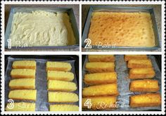 """Looking for home-made Cake Rusk Recipes? Try out this Cake Rusk Recipe by Shireen Anwar in cooking show """"Masala Mornings"""" on masala tv. Pakistani Desserts, Indian Desserts, Mini Desserts, Just Desserts, Pakistani Recipes, Pakistani Dishes, Indian Foods, Indian Sweets, Indian Snacks"""
