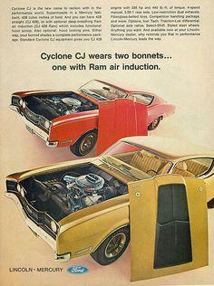 1969 Mercury Cyclone CJ Fastback