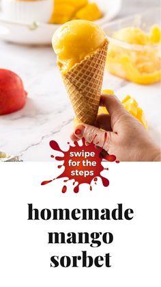 Frozen Fruit, Frozen Desserts, Frozen Treats, Frozen Yogurt, Vegan Desserts, Just Desserts, Dairy Free Recipes, Vegan Recipes, Cooking Recipes