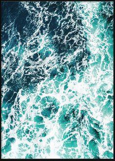 Sea Foam Tropical Posters, Sea Foam, Waves, Beach, Outdoor, Outdoors, The Beach, Beaches, Ocean Waves