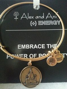 My new Alex and ani bracelet.♡