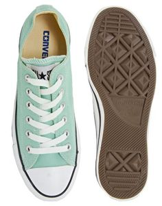 Converse | Converse All Star Seasonal Mint Ox Trainers at ASOS