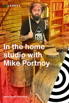 We recently found out that Mike Portnoy is using LEWITT mics on his drums. As you might assume, we felt honored but we were also curious to find out the whole story. Learn about his home setup and how he goes about his production process together with his engineer Thomas Cucé. David Ellefson, Dream Theater, Audio Engineer, Like Mike, Cover Songs, Him Band, Home Studio, Asmr, Metal Bands