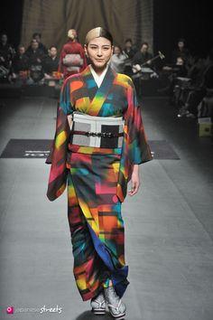 140319-7721 - Autumn/Winter 2014 Collection of Japanese fashion brand JOTARO SAITO on March 19, 2014, in Tokyo.