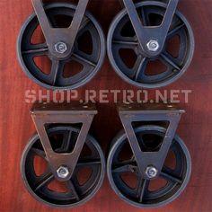 6″ Factory Caster   Vintage Industrial Furniture